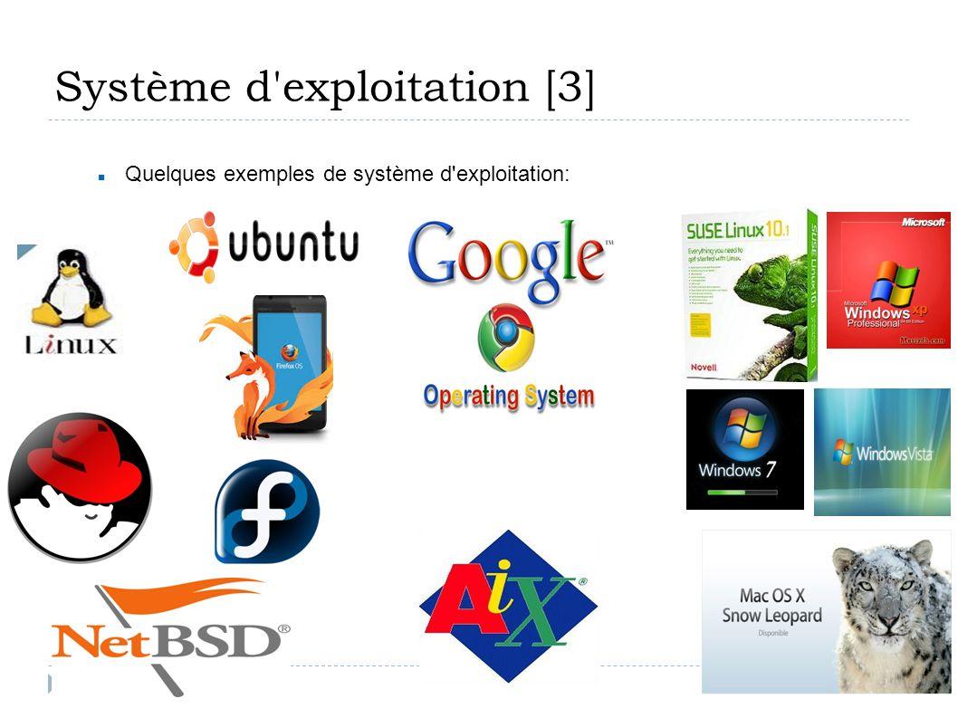 Système d exploitation [3]